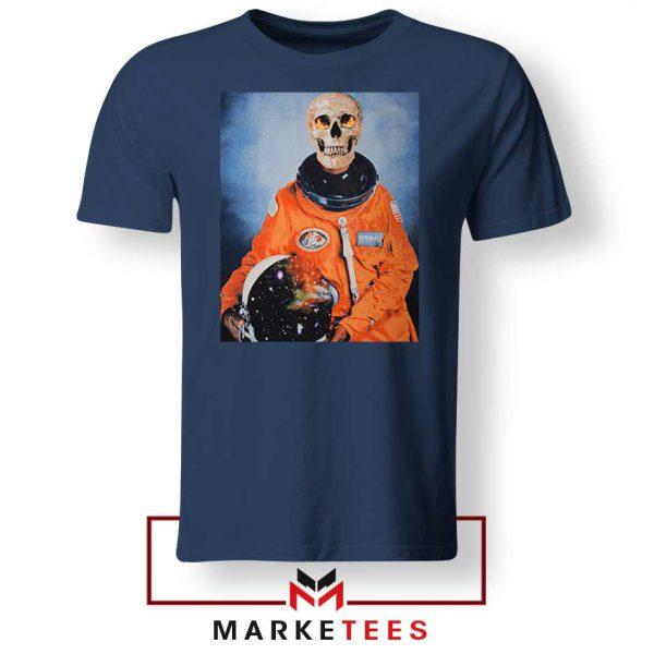 Travis Scott Astronaut Navy Blue Tshirt