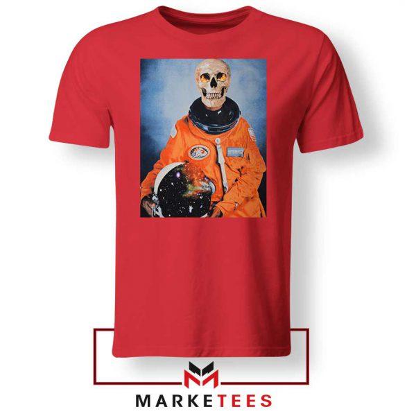 Travis Scott Astronaut Red Tshirt