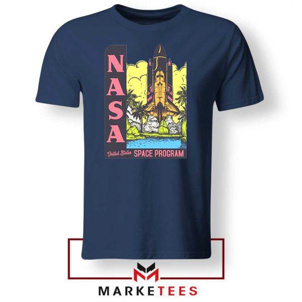 Vintage NASA Space Program Navy Tee