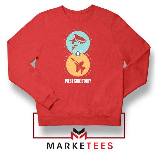 West Side Story Film Red Sweatshirt
