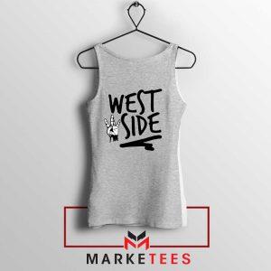 West Side Street Design Grey Tank Top