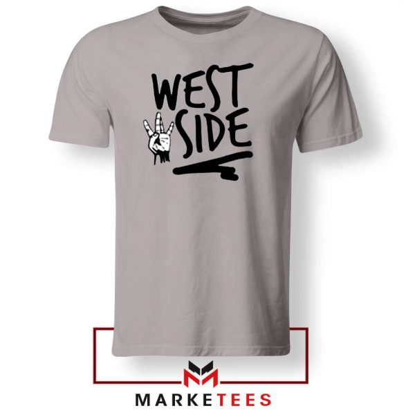 West Side Street Design Grey Tee