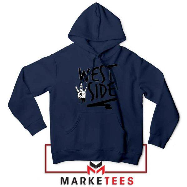 West Side Street Design Navy Jacket