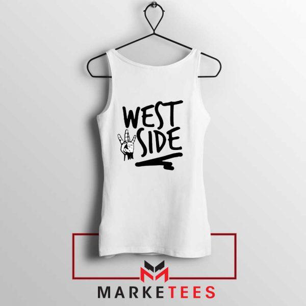 West Side Street Design Tank Top