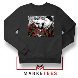A Tribe Called Quest Group Black Sweater