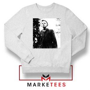 Michael Myers Photo Halloween White Sweater