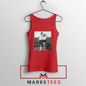 Nipsey and Lauren V Day Red Tank Top