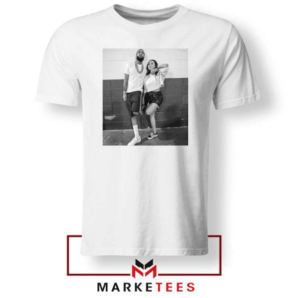 Nipsey and Lauren V Day White Tshirt